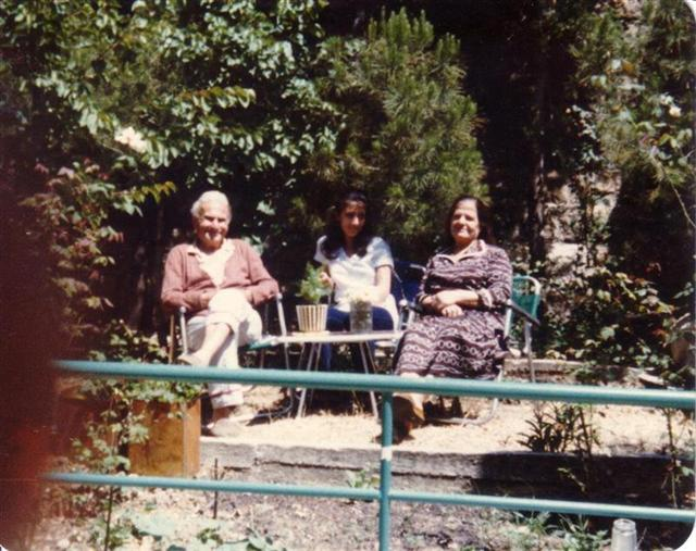 Jido Abo Souhail in His Garden